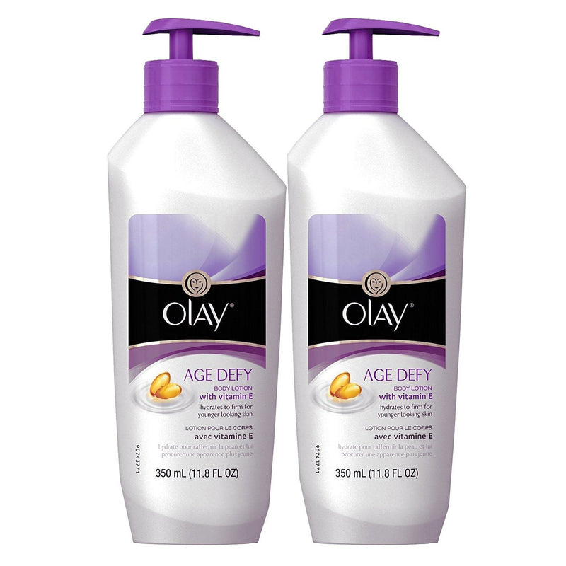Olay Age Defy Body Lotion Ultra Moisture, 11.8 oz, 2 Pack