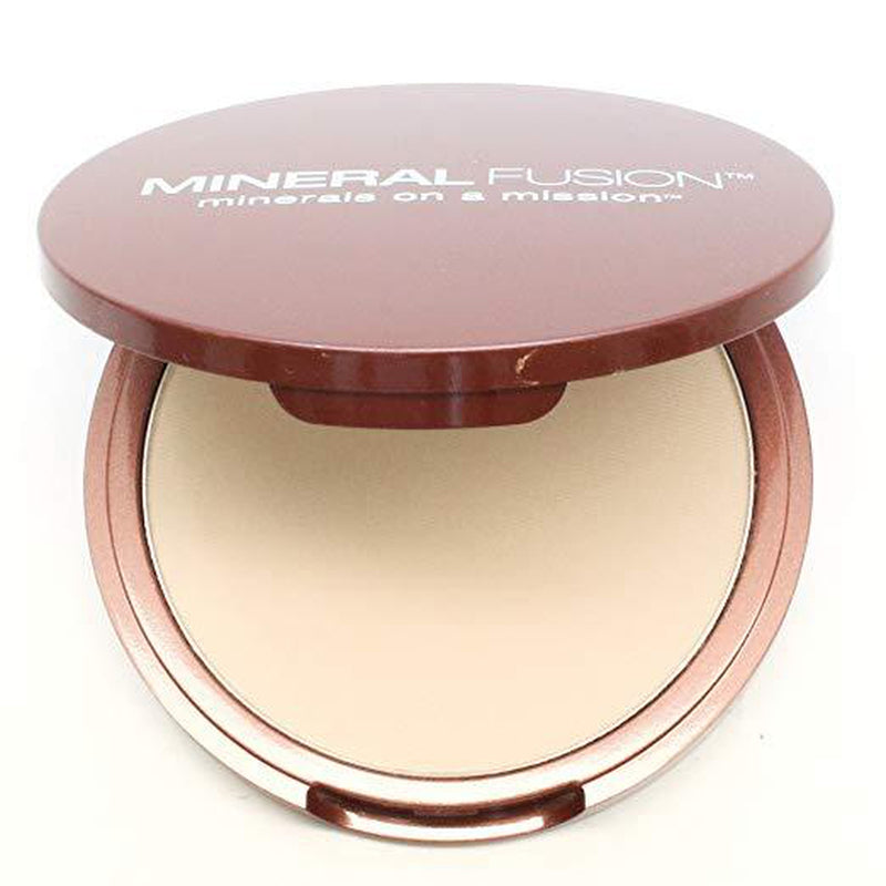 Mineral Fusion Pressed Powder Foundation, Warm 1, 0.32 oz