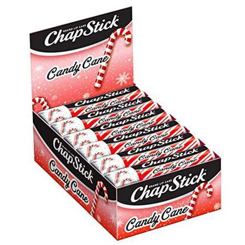 ChapStick Limited Edition Candy Cane Refill, 0.15 Ounces, 12 Pack