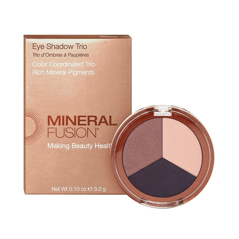 Mineral Fusion Eye Shadow Trio, Density, 0.1 Ounce