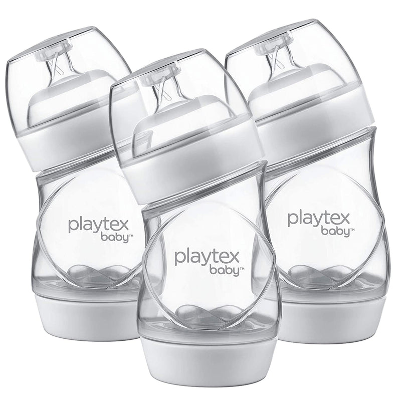 Playtex VentAire Baby Bottle, 6 Ounce, 3 Count