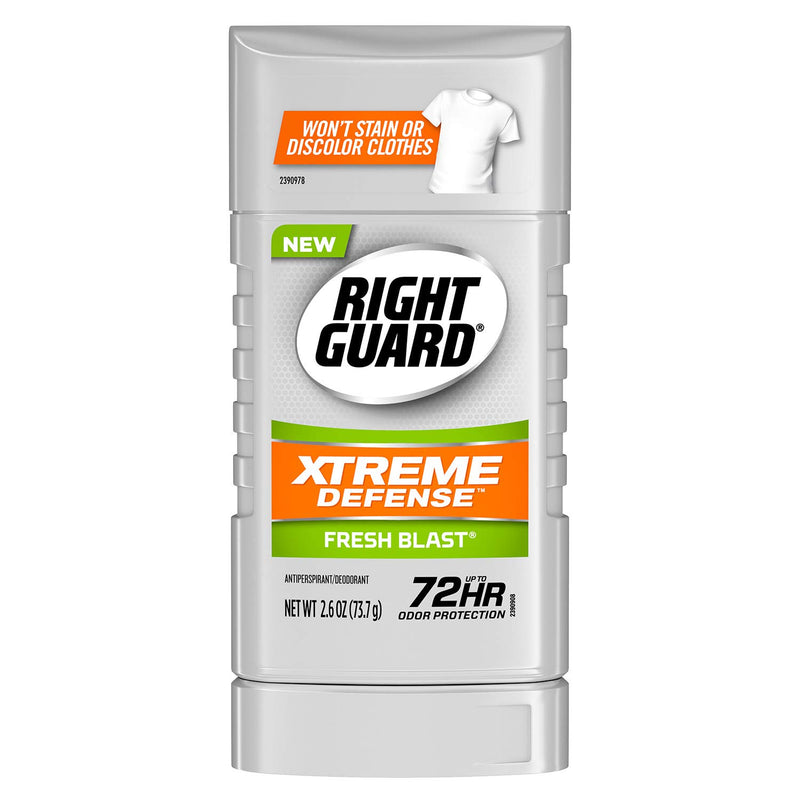 Right Guard Xtreme Deodarant Fresh Blast, 2.6 Oz, 4 Pack