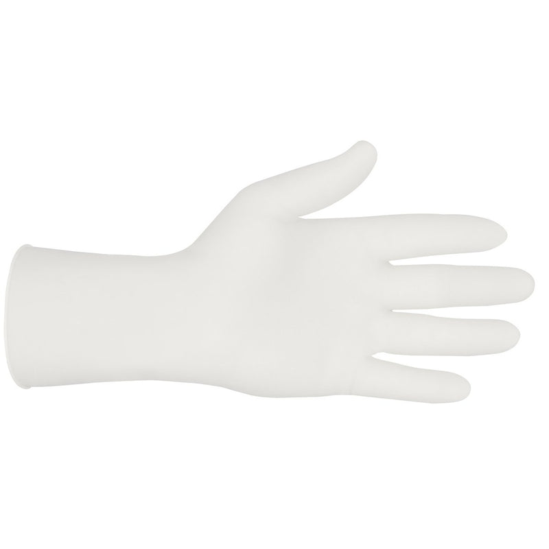 MCR Sensatouch Disposable Latex Gloves, XL, 100 Gloves (50 Pairs) - Powder Free Latex Single Use Gloves