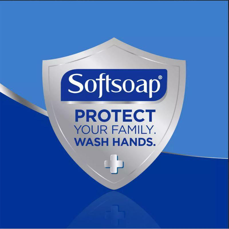 Softsoap Antibacterial Hand Soap, 11.25 oz, 4 Pack (2 Zesty Lemon + 2 White Tea & Berry)