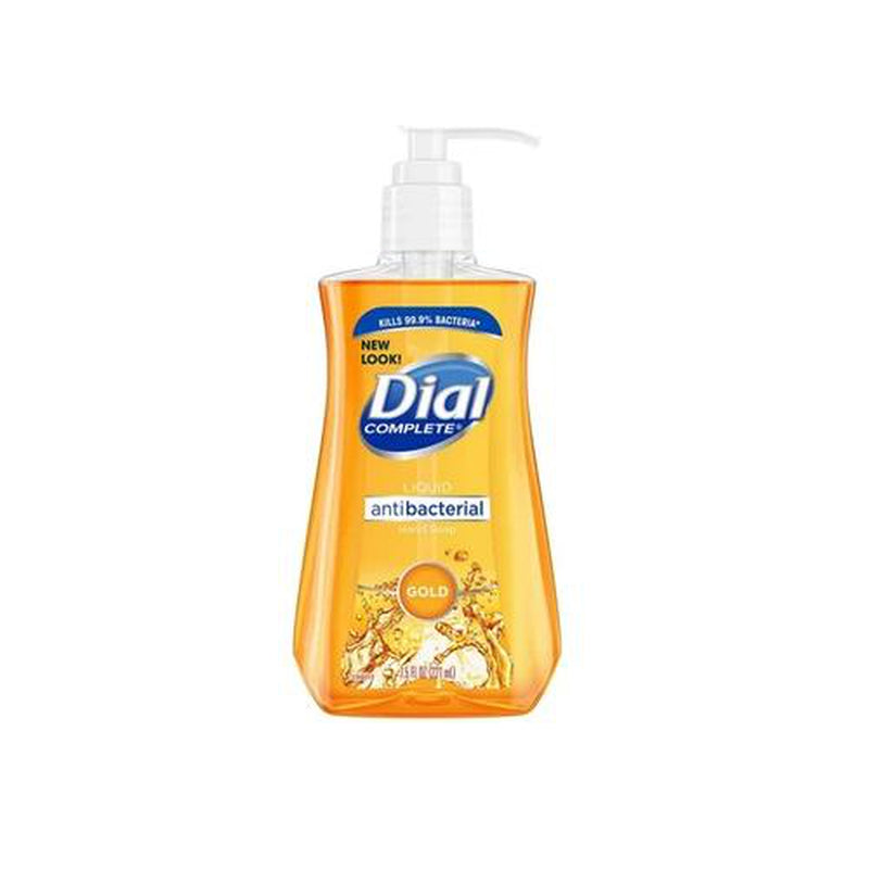 Dial Antibacterial Liquid Hand Soap, Gold, 7.5 Oz