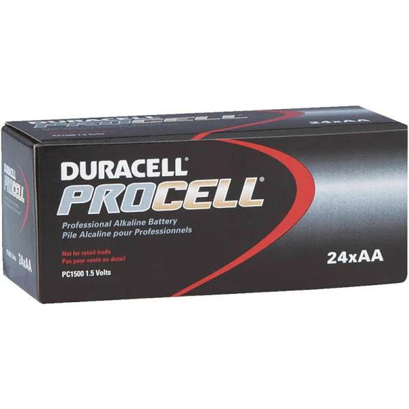 Duracell Procell PC1500 AA Battery, 24 Count