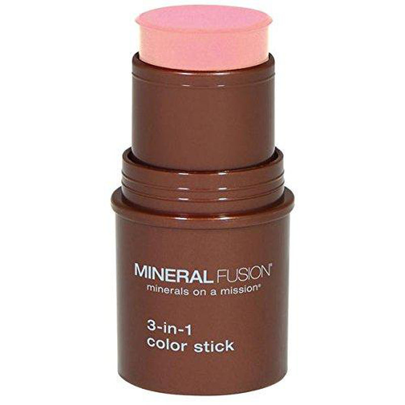 Mineral Fusion 3-in-1 Color Stick, Rosette .18 Ounce