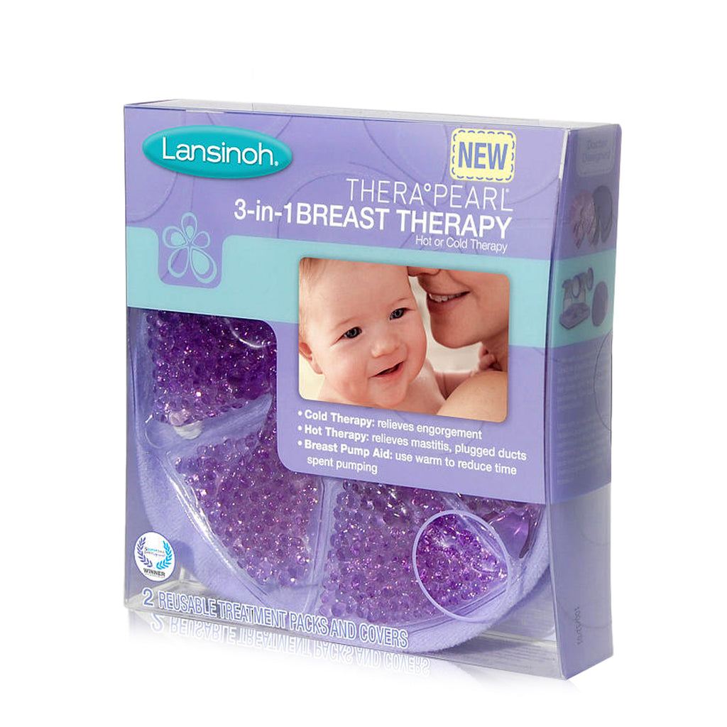 Lansinoh TheraPearl 3in1 Breast Therapy 2 Ct
