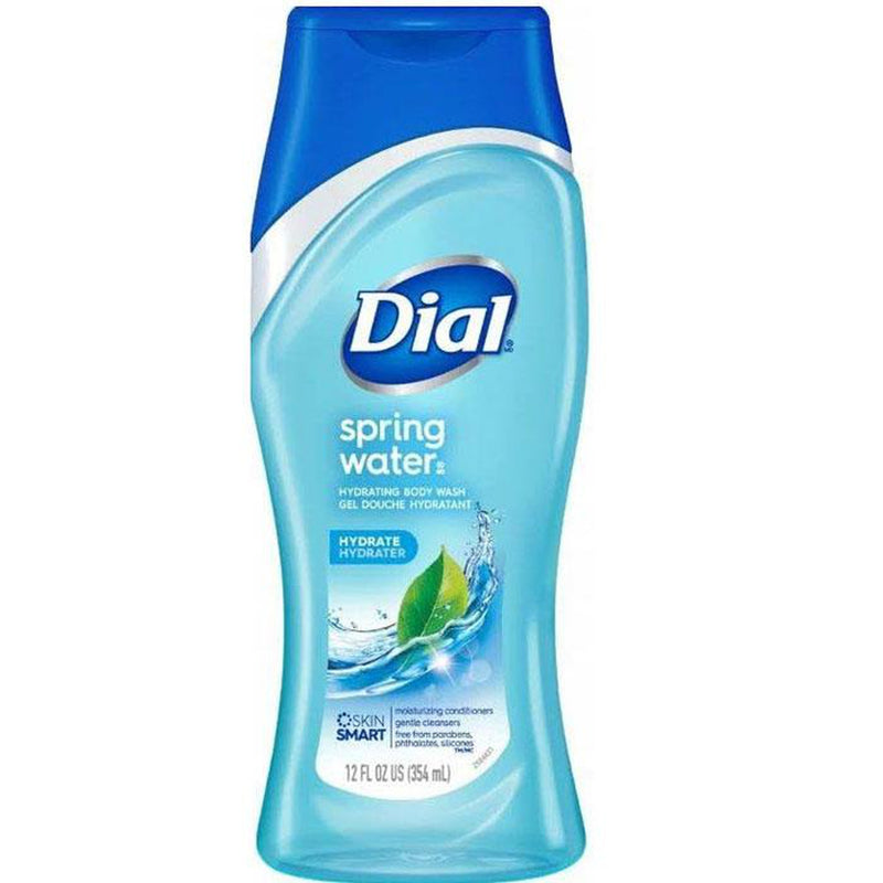 Dial Body Wash, Spring Water, 12 Oz