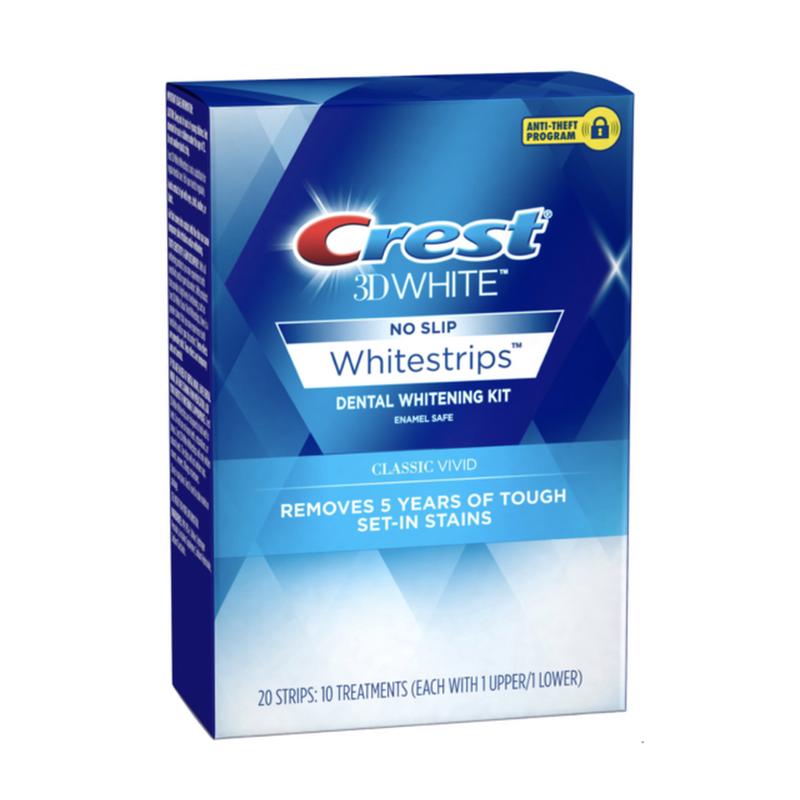 Crest 3D Whitestrips, 20 Strips