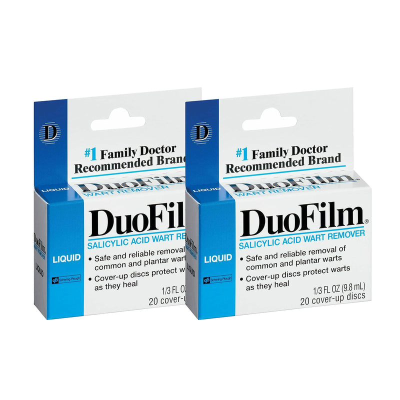 Duofilm Wart Remover Kit, 9.8 mL, 2 Pack