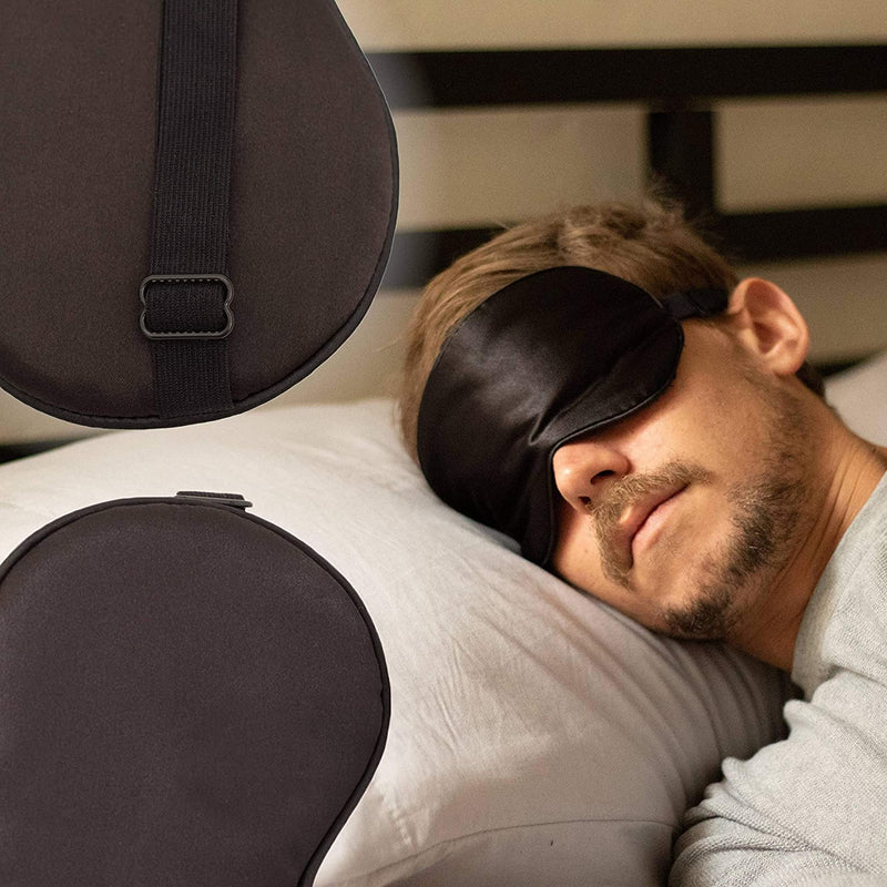 Eye See Sleep Eye Mask, Gold, Eye Covers for Sleeping, Comfortable Eyemask Lays Softly On Your Eyes