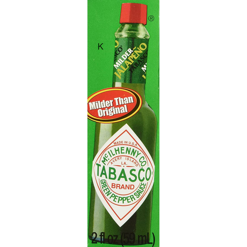 Tabasco Green Pepper Sauce, 2 Oz