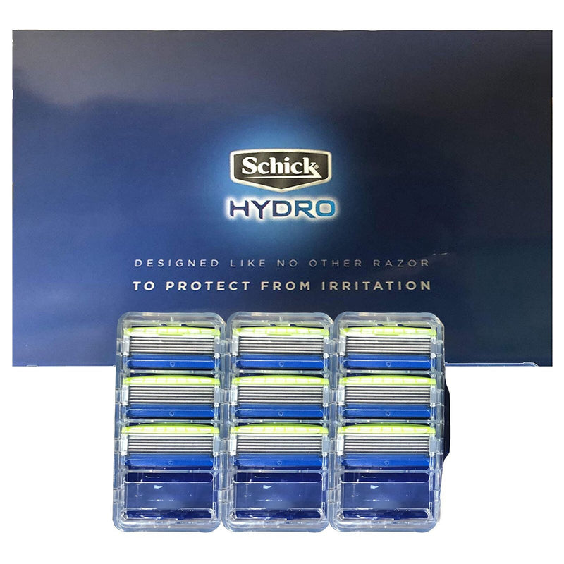 Schick Hydro 5 Razor + 9 Replacement Blades