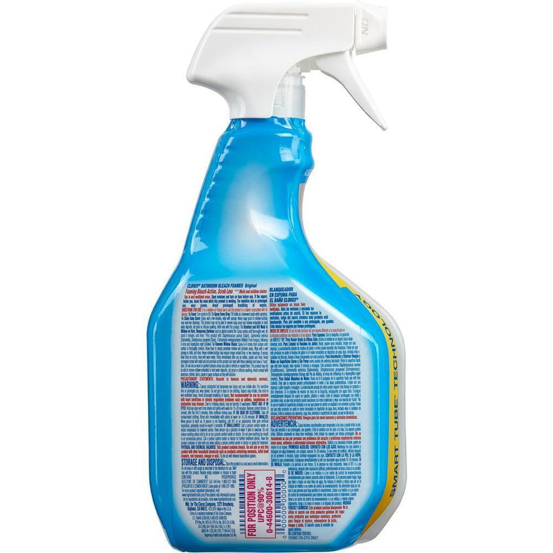 Clorox Bleach Bathroom Foamer, 30 fl o