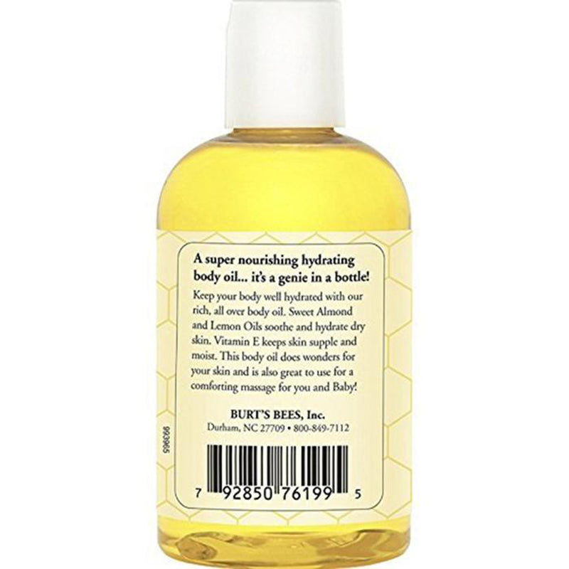 Burt's Bees Mama Bee Body Oil with Vitamin E, 4oz, 2 Pack