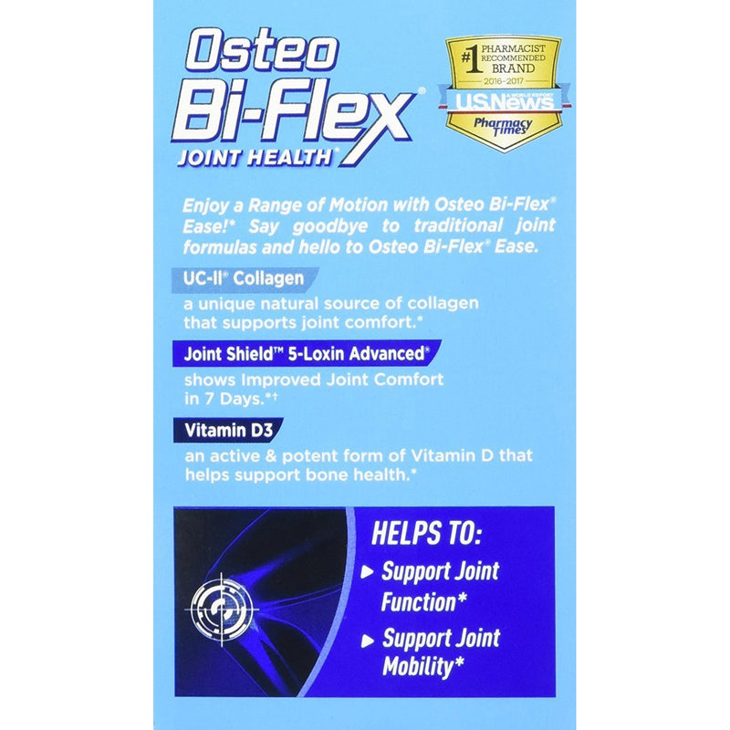 Osteo Bi-Flex Joint Health, Ease, Advanced Triple Action UC-II Collegen Formula, 70 Mini Tablets, 2 Pack, 140 Tablets Total