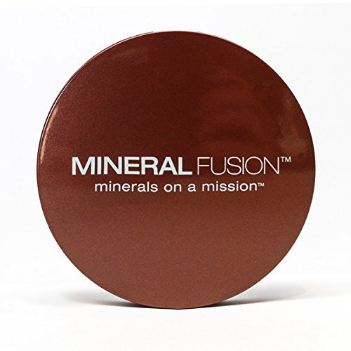 MINERAL FUSION Mineral fusion makeup pressed powder foundation deep 4, 0.32 oz, 0.32 Ounce