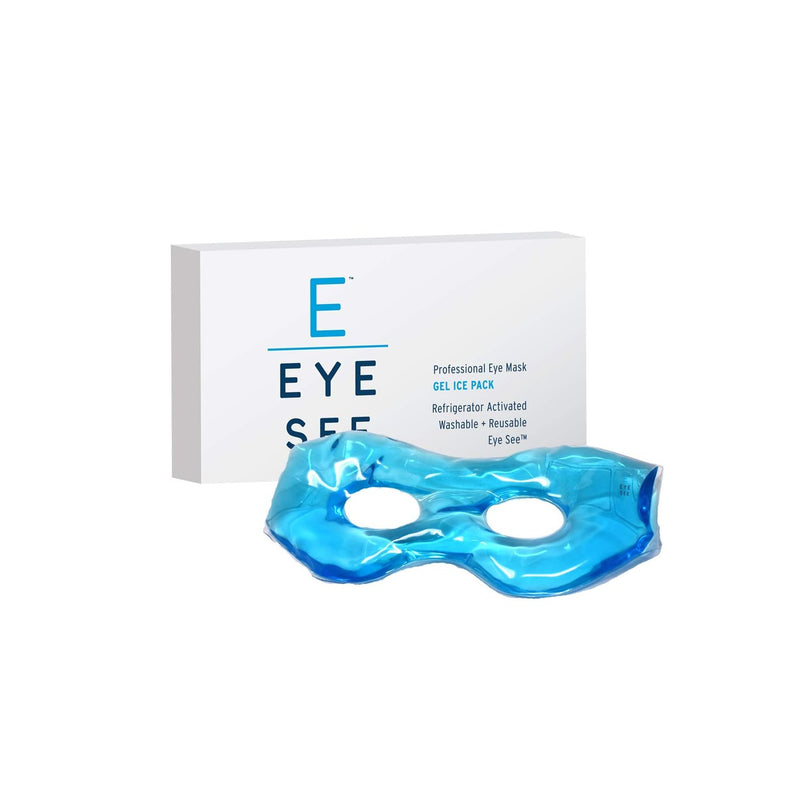 Eye See Professional Gel Eye Mask, Smooth Gel Ice Pack