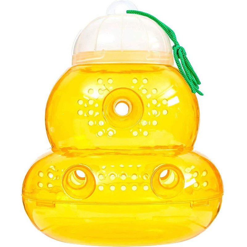BeLü Wasp Trap Bee Traps Jar Hornet Trap Yellow Jacket Trap, Reusable Eco-Friendly Reusable