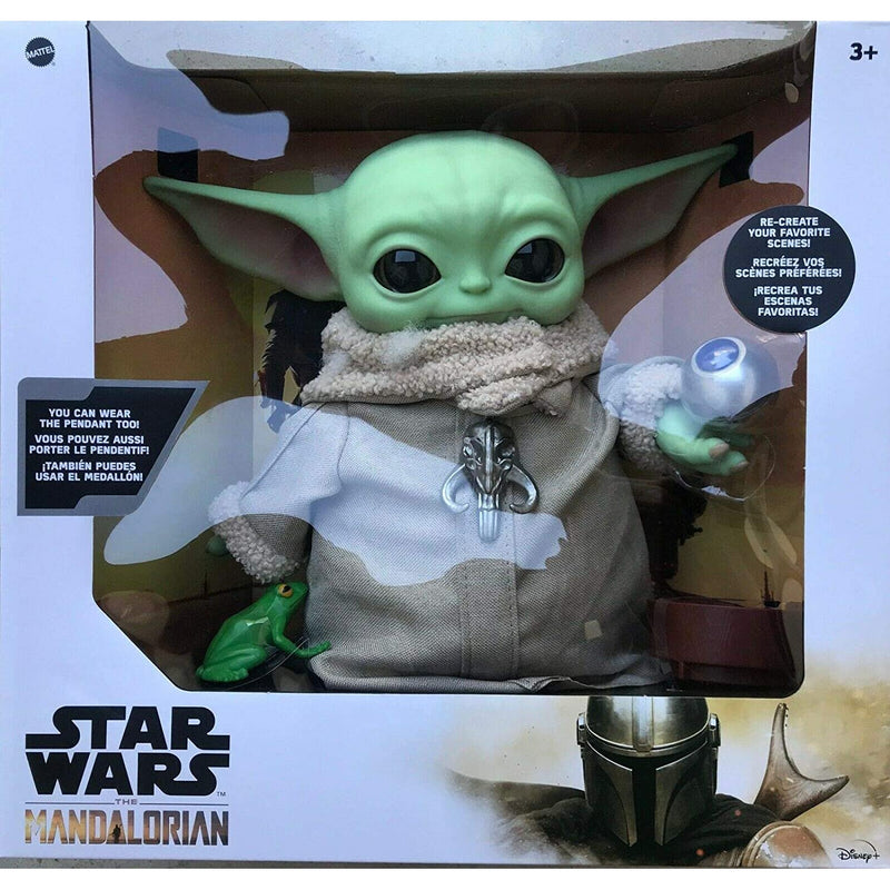 "Star Wars The Child Baby Yoda The Mandalorian with 4 Accessories 12"" Tall"