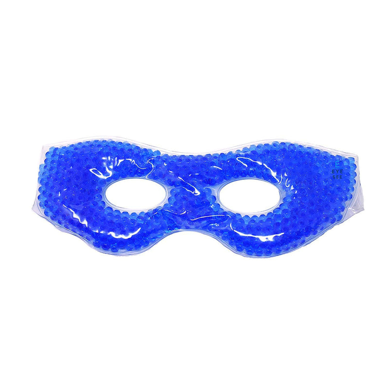 Eye See Cooling Eye Mask with Beads for Puffy Eyes, Sinuses, Dry Eyes and Allergy Relief