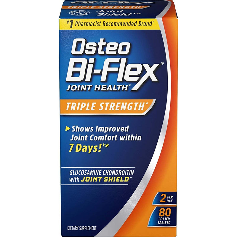 Osteo Bi-Flex Advanced Triple Strength Coated Tablets 80 ea
