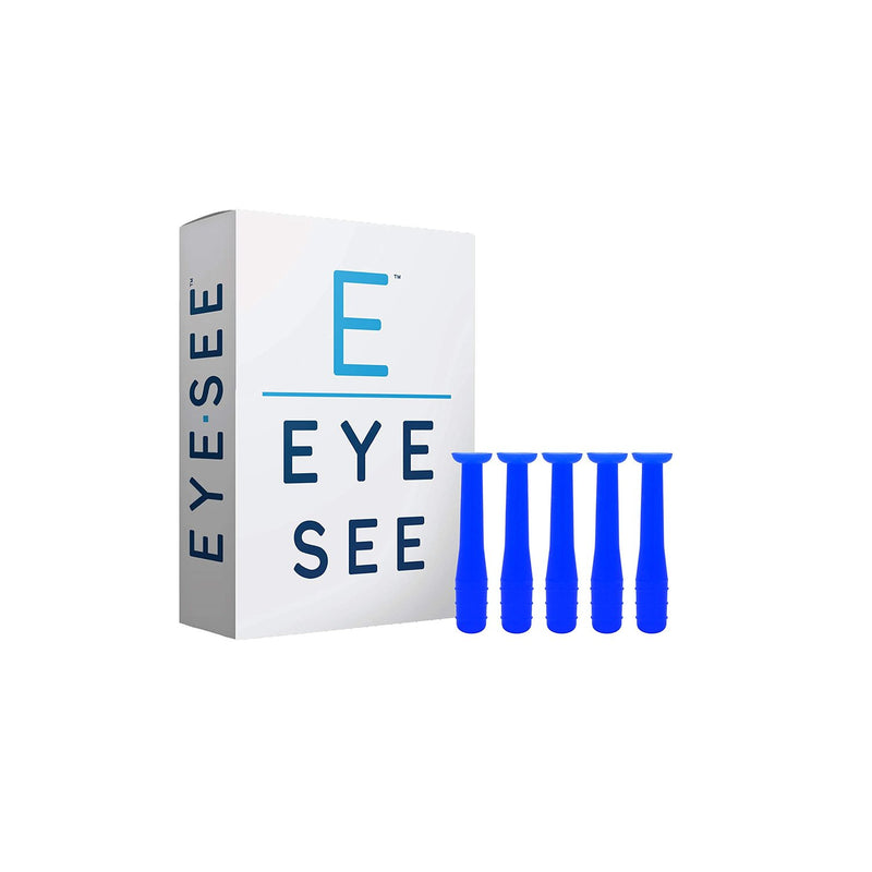 EyeSee Hard Contact Lens Remover and Applicator RGP Plunger - Box of 5 (Blue)