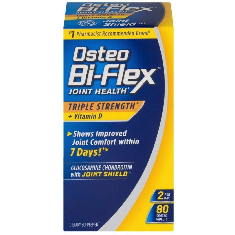 Osteo Bi-Flex Triple Strength w/Vitamin D (80 Coated Tablets)