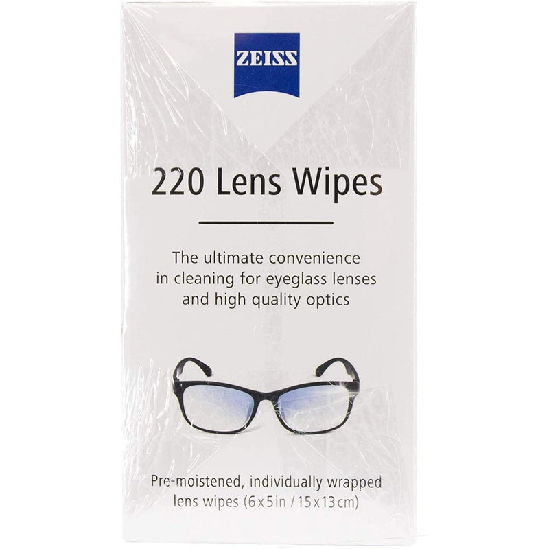Zeiss Lens Wipes, 220 ct. 3 Pack (660 Total)