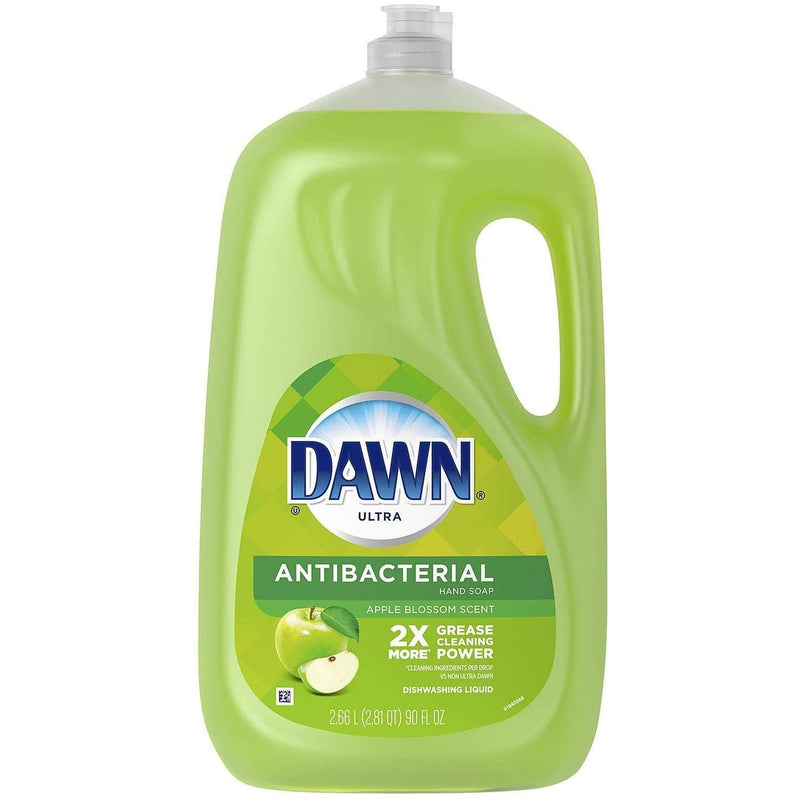 Dawn Ultra Antibacterial Soap Apple Blossom Scent 90 FL Oz