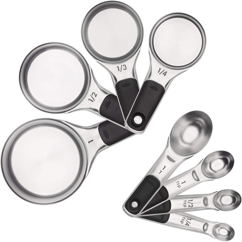 OXO 11180500 Good Grips Measuring Cups and Spoons Set, Stainless Steel