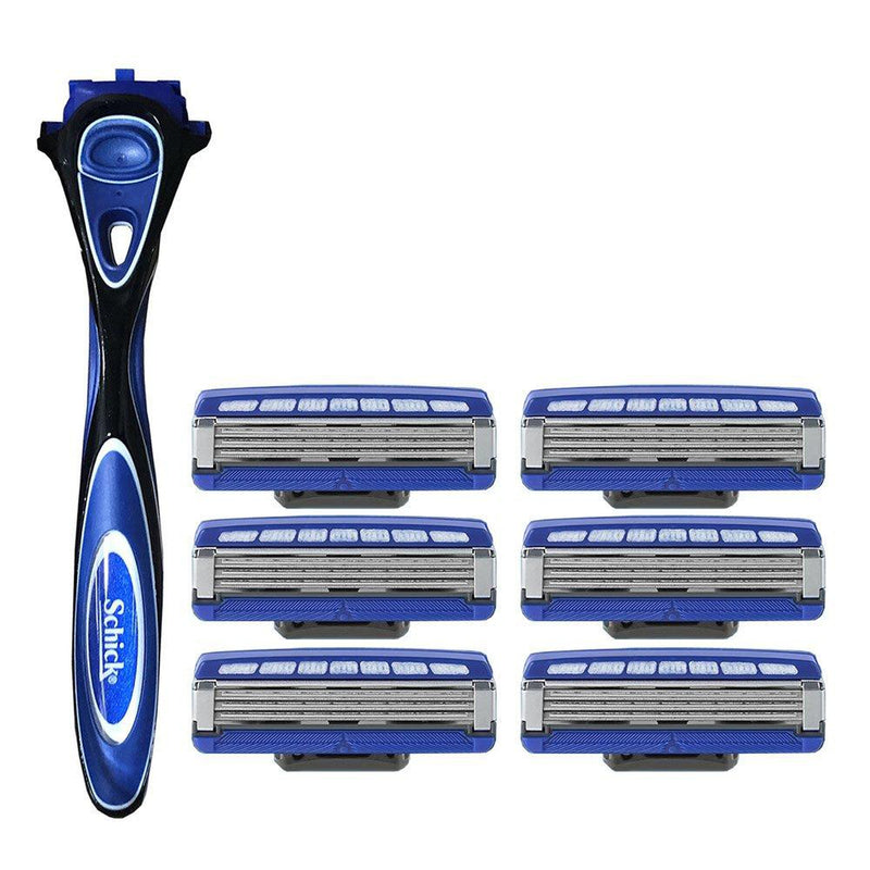 Schick Hydro 3 Razor With 6 Replacement Blades