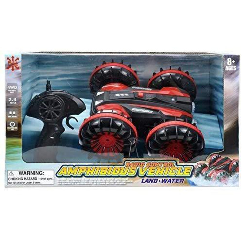 Pro-Racing Radio Control Amphibious Vehicle, Waterproof Toy Car for Land and Water (JM3060R)