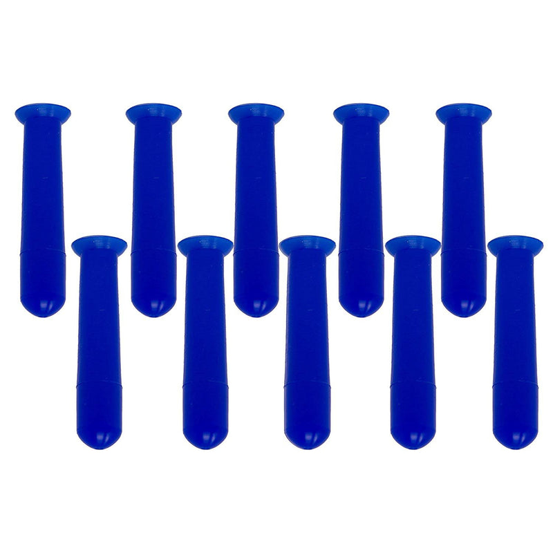 Eye See Hollow Hard Contact Lens Remover RGP Plunger - Allows for Easy Removal - Box of 10 - Blue