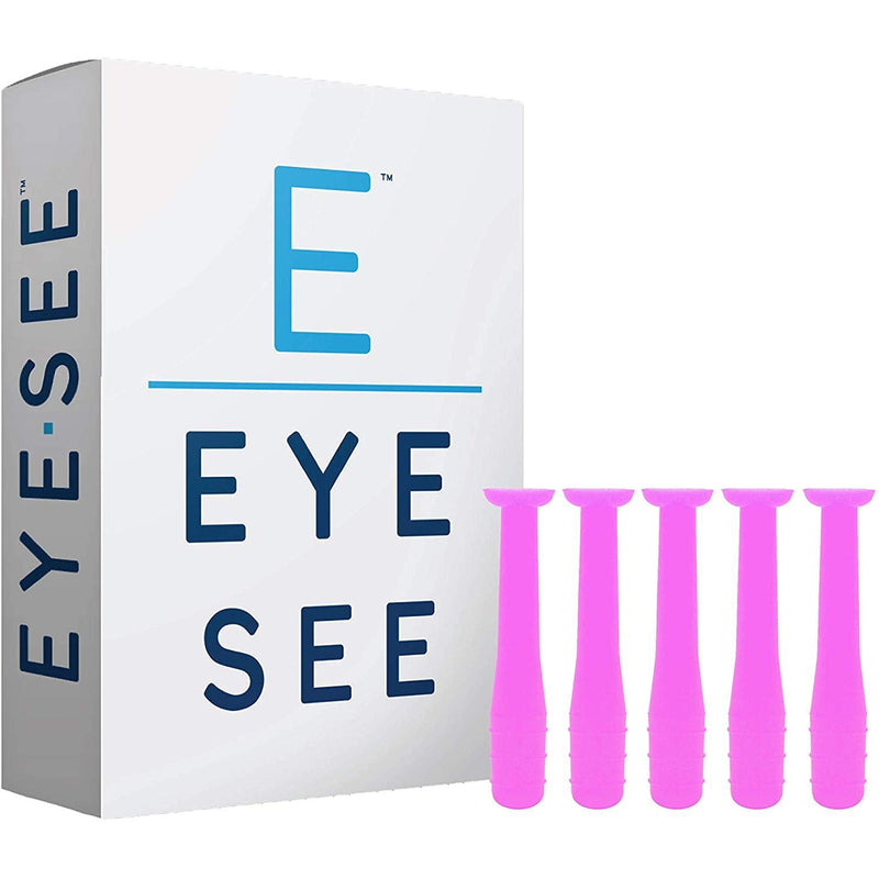 Eye See Hard Contact Lens Remover RGP Plunger, Box of 5, Pink