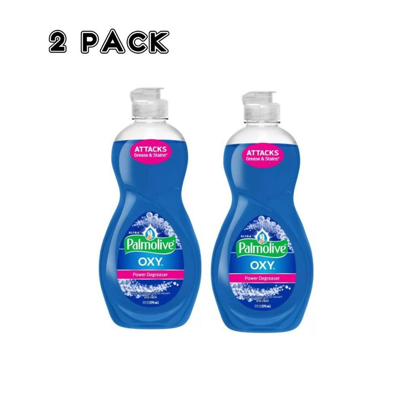 Palmolive Ultra Oxy Power Degreaser Dish Wash Liquid, 10 Fluid Ounces, 2 Pack