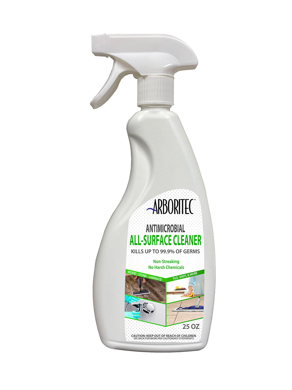 25 oz. Spray Bottle - Antimicrobial All-Surface Cleaner