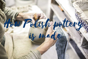 How Polish pottery is made?