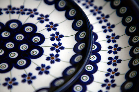 pattern of classic design 166a from Polish pottery