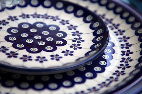 pattern of Polish pottery design from collection 166a