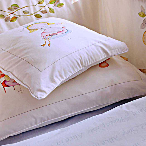pillows from Alice in wonderland duvet cover set collection