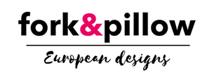 fork and pillow company logo