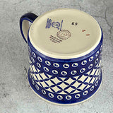 Blue Diamond Hand-Decorated Taurus Coffee Tea Mug