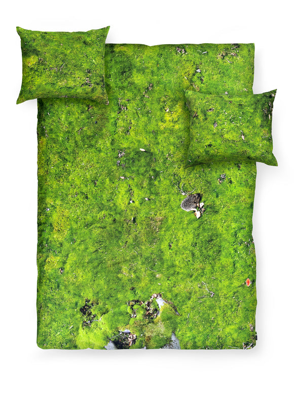 MOSS DUVET COVER SET QUEEN SIZE