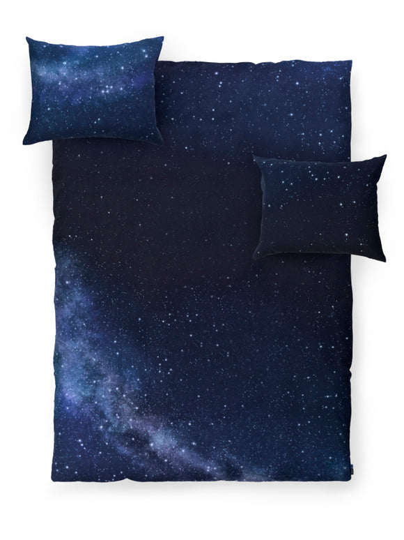NORTHERN SKY DUVET COVER SET QUEEN SIZE