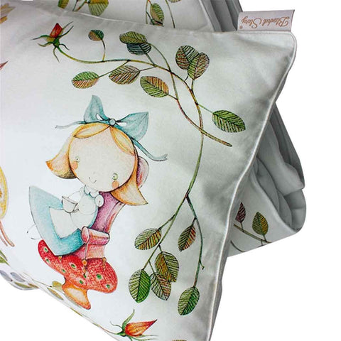 ALICE'S MAGICAL WORLD DUVET AND PILLOWCASE SIZE 80×100 CM - Forkandpillow