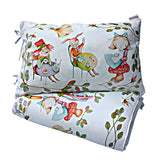 ALICE'S MAGICAL WORLD BABY DUVET AND PILLOWCASE SET SIZE 80×100 CM - Forkandpillow