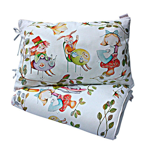 ALICE'S MAGICAL WORLD DUVET AND PILLOWCASE SIZE 80×100 CM