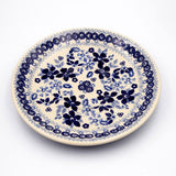 blue and white sb01 ceramic saucer